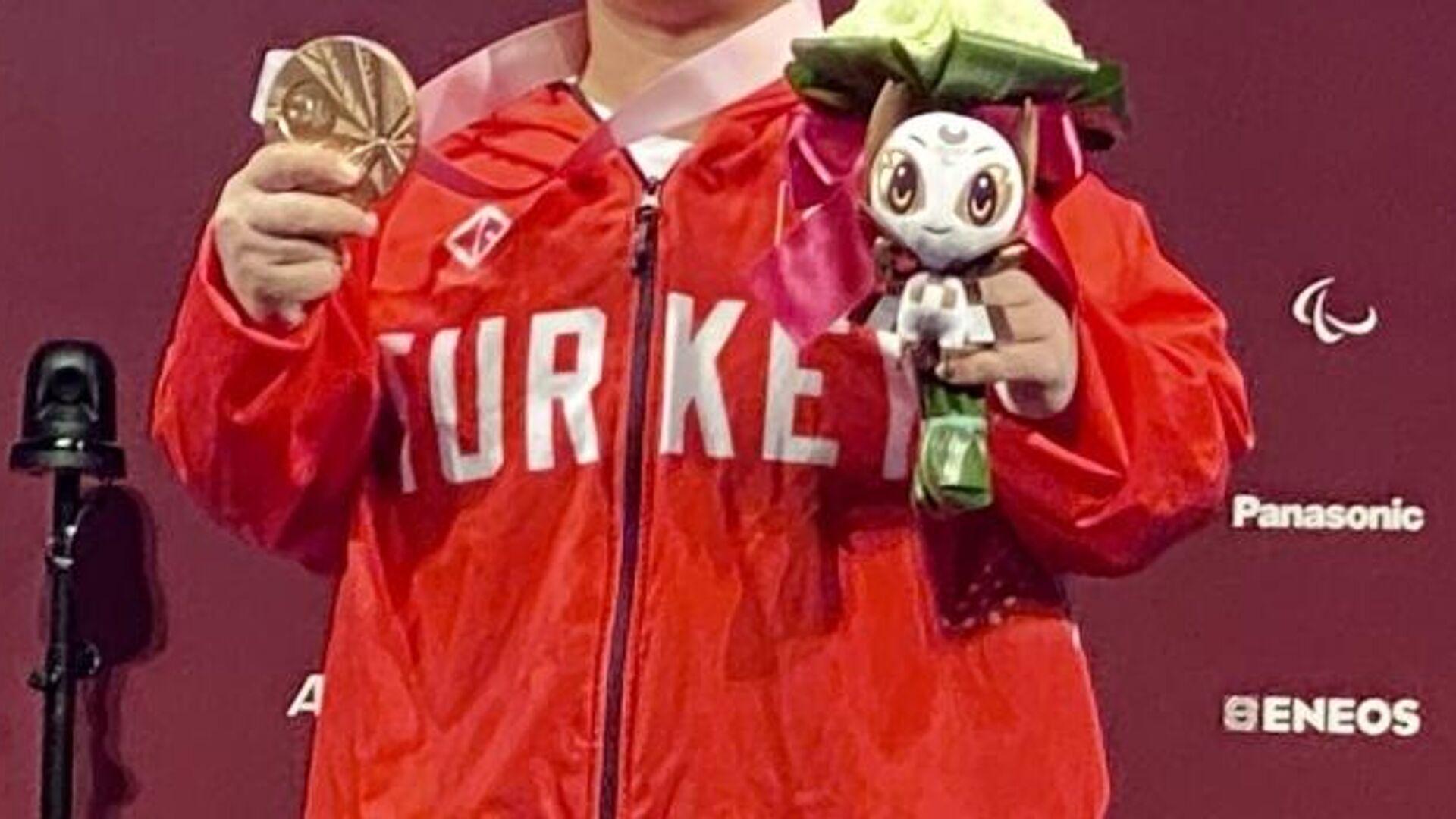 Türkiye'nin paralimpik oyunlarında madalya sayısı 30'a yükseldi - Sputnik Türkiye, 1920, 29.08.2021