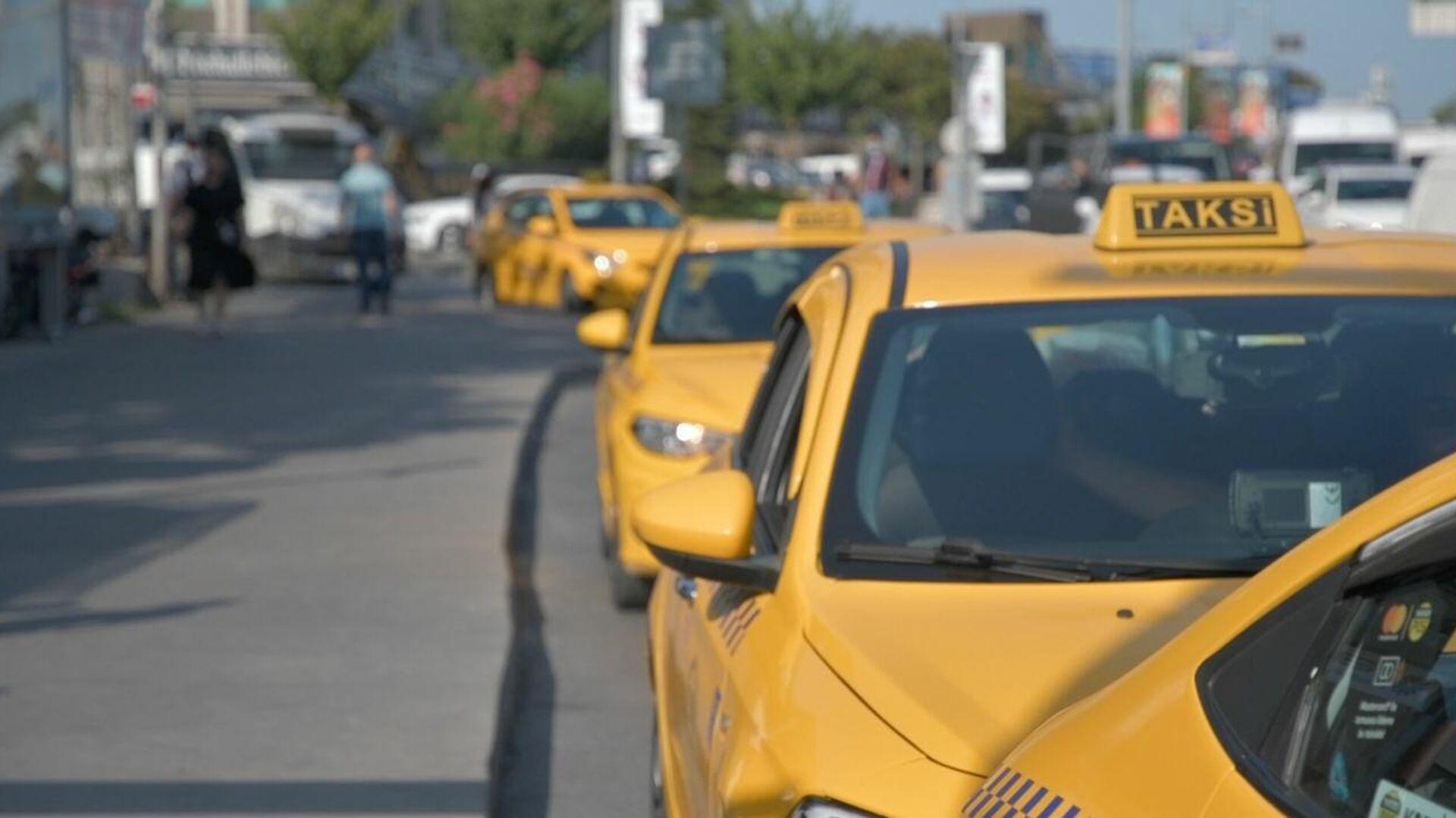 Taksi, taksici - Sputnik Türkiye, 1920, 15.09.2021