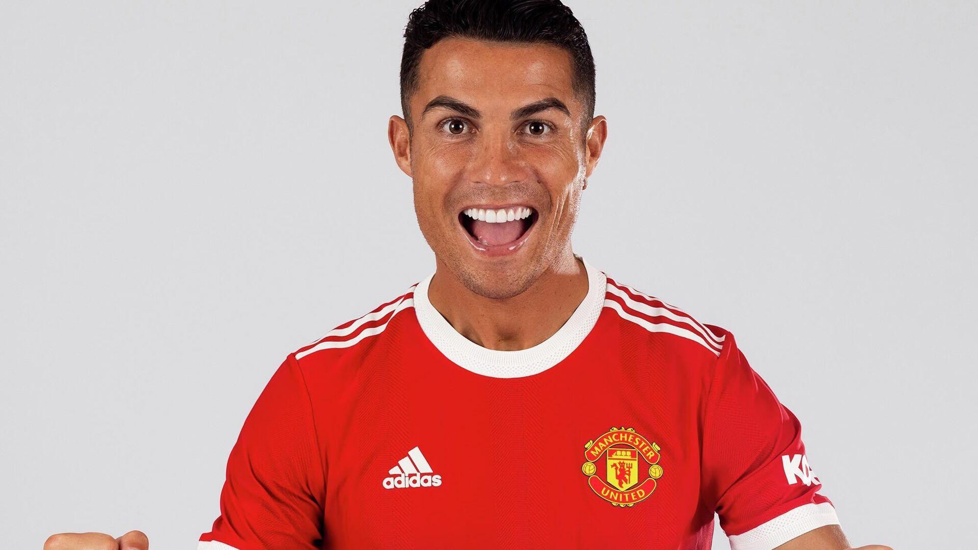 Cristiano Ronaldo, Manchester United - Sputnik Türkiye, 1920, 15.09.2021