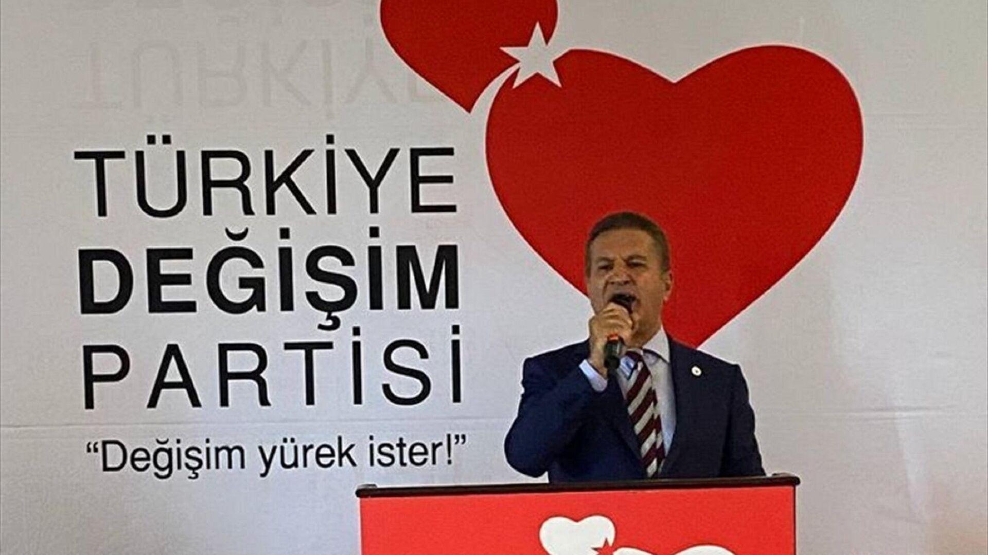 Türkiye Değişim Partisi Genel Başkanı Mustafa Sarıgül - Sputnik Türkiye, 1920, 13.09.2021