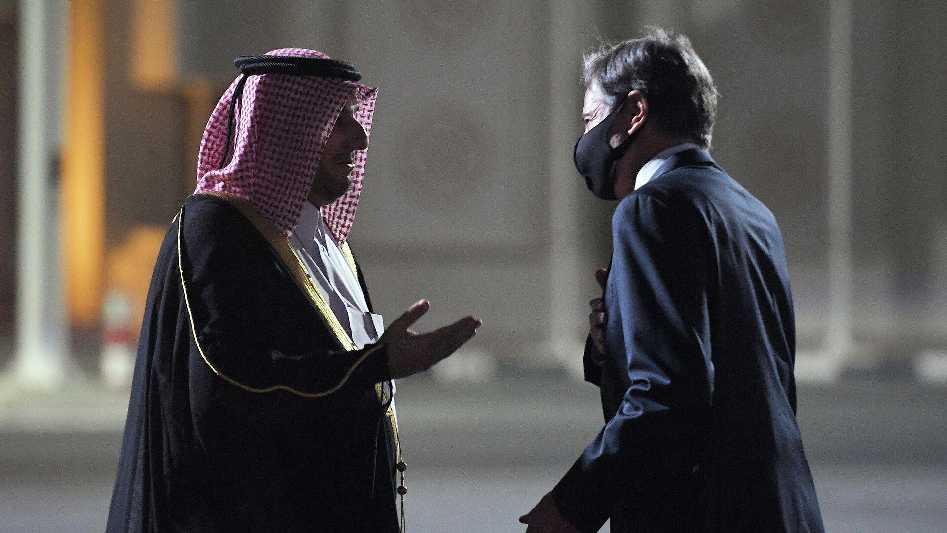 Katar Emiri, ABD Dışişleri ve Savunma bakanlarıyla Afganistan'ı görüştü - Sputnik Türkiye, 1920, 06.09.2021