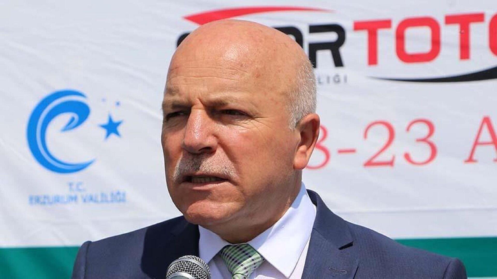 Erzurum Büyükşehir Belediye Başkanı ve Erzurumspor'un onursal başkanı Mehmet Sekmen, - Sputnik Türkiye, 1920, 13.09.2021