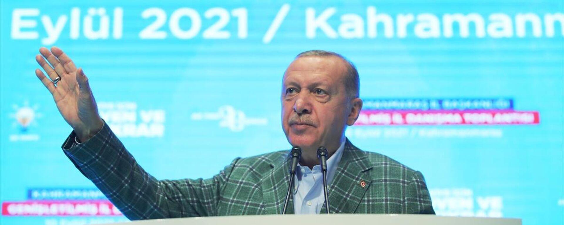 Recep Tayyip Erdoğan - Sputnik Türkiye, 1920, 10.09.2021