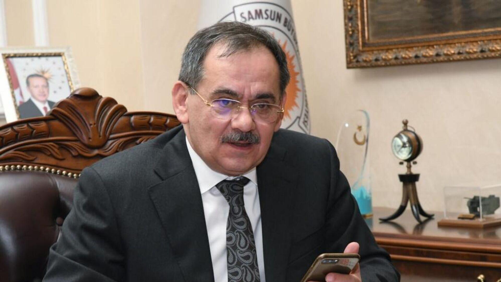 Samsun Büyükşehir Belediyesi (SBB) Başkanı Mustafa Demir - Sputnik Türkiye, 1920, 12.09.2021