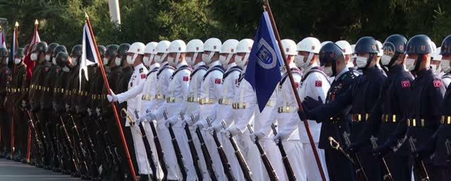 Askeri karşılama töreni - Genelkurmay Başkanlığı - Sputnik Türkiye, 1920, 13.09.2021
