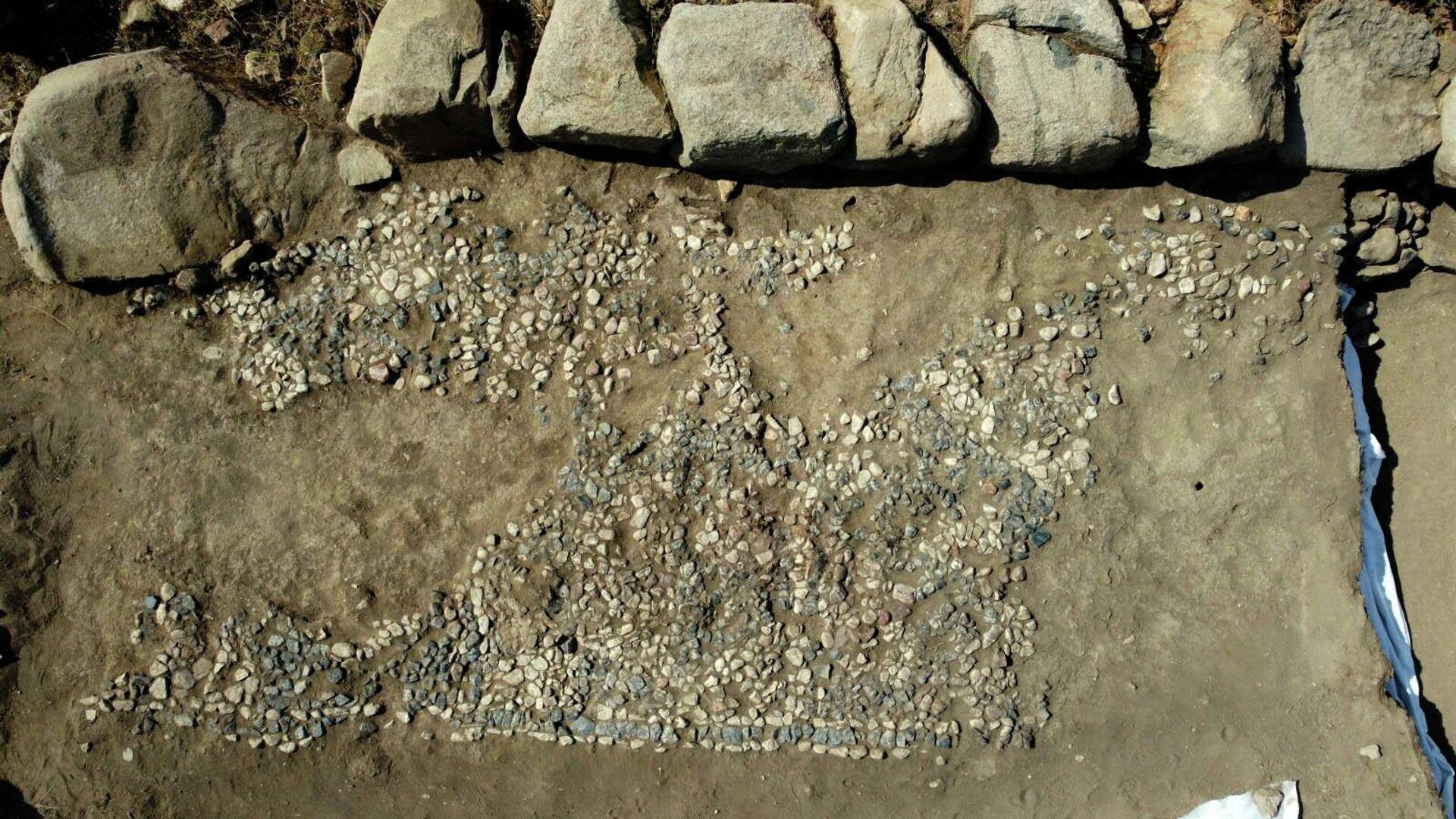 Dünyanın en eski mozaiği Yozgat'ta - Sputnik Türkiye, 1920, 14.09.2021