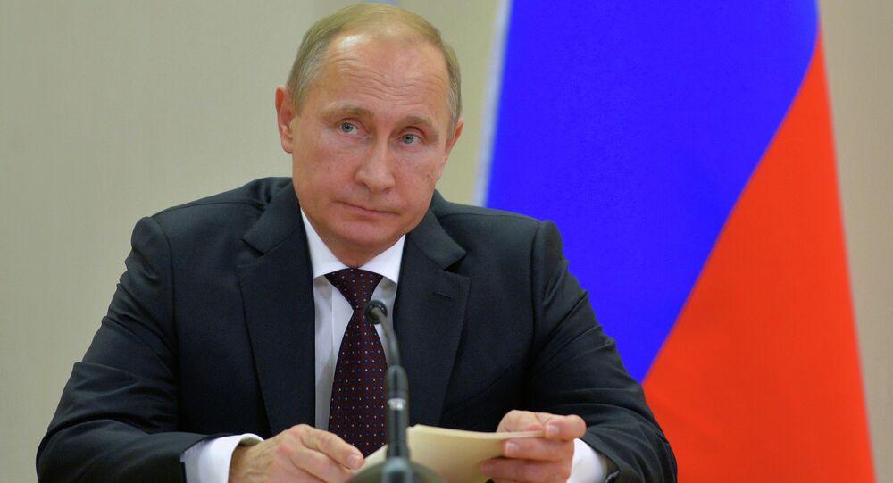 В.Путин провел встречу с Н.Ф.Чонгом