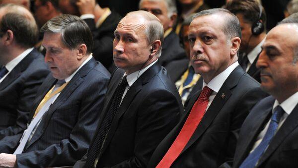 Putin ile Erdoğan - Sputnik Türkiye