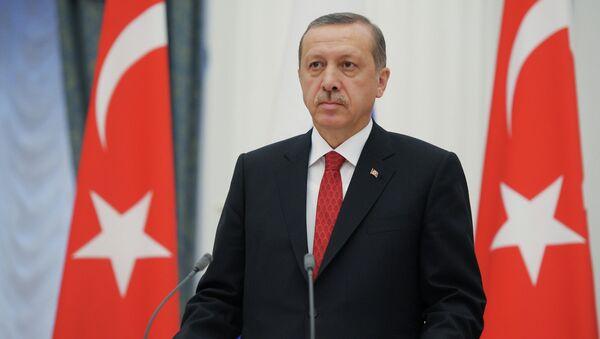 Erdoğan basın toplantısında - Sputnik Türkiye