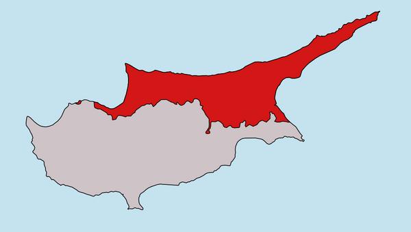 Kıbrıs haritası - Sputnik Türkiye
