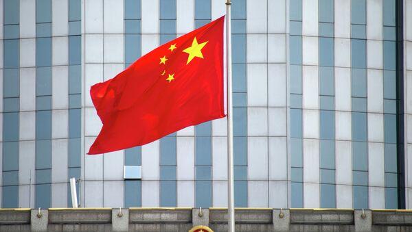 Şangay'daki Çin bayrağı - Sputnik Türkiye