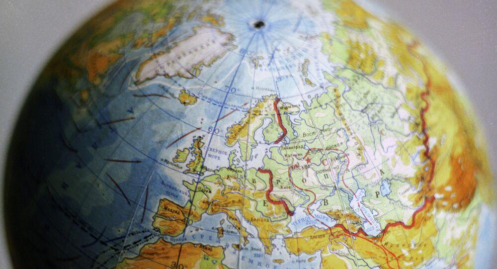 Dünya. Harita