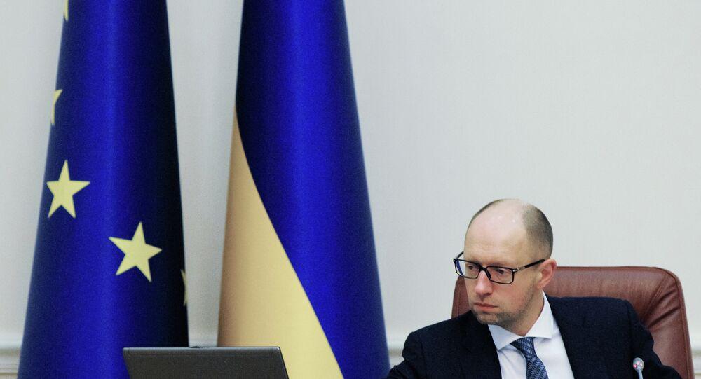 Ukrayna Başbakanı Arseniy Yatsenuk