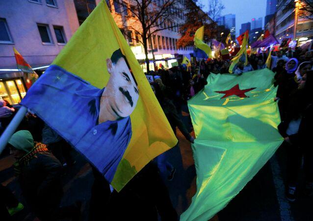 Almanya'da PKK'ya destek mitingi