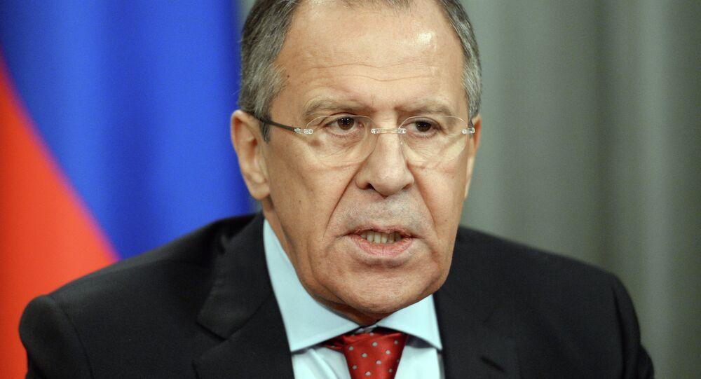 Rusya Dışişleri Bakanı Sergey Lavrov,