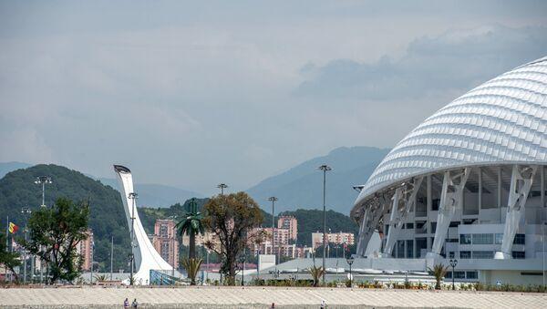 Soçi olimpiyat tesisleri. Soçi, şehir - Sputnik Türkiye