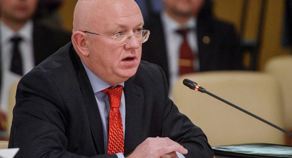 Rusya Dışişleri Bakan Yardımcısı Vasiliy Nebenzya