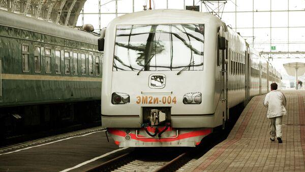 Moskova'daki Kiev Garı - Sputnik Türkiye