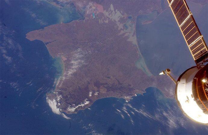 Uzaydan Kırım