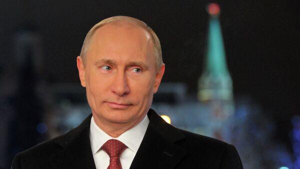 Vladimir Putin'in Yılbaşı mesajı - Sputnik Türkiye