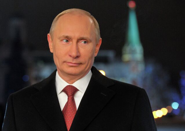 Vladimir Putin'in Yılbaşı mesajı