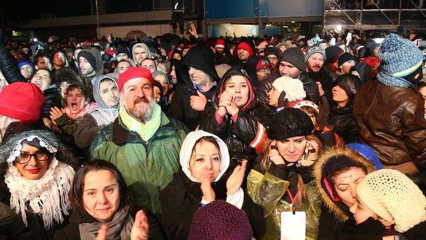 İstanbul'da yılbaşı kutlamaları - Sputnik Türkiye