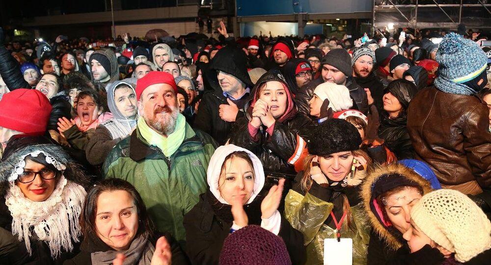 İstanbul'da yılbaşı kutlamaları