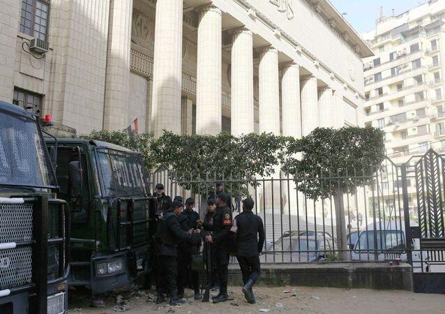 Mısır'da - mahkeme