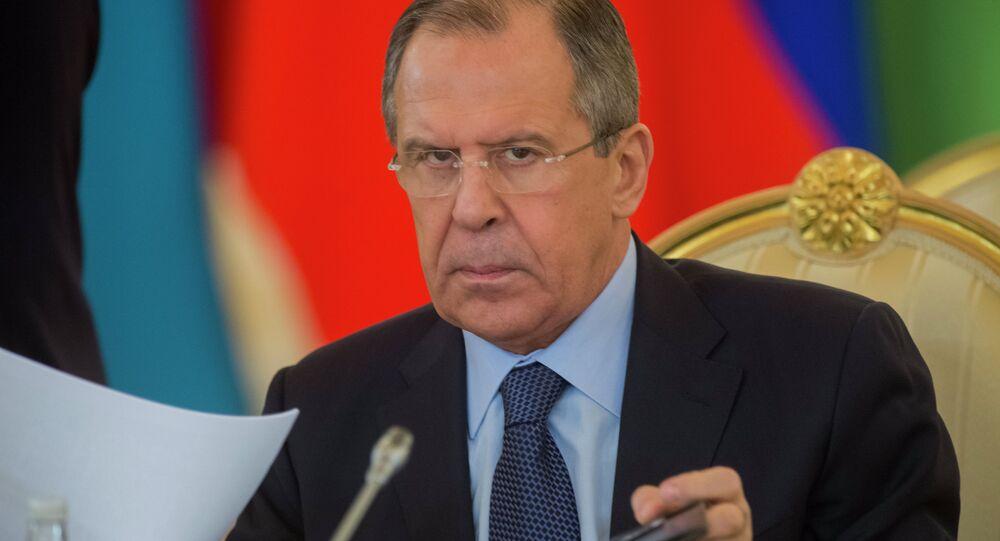 Rusya Dışişleri Bakanı Segey Lavrov