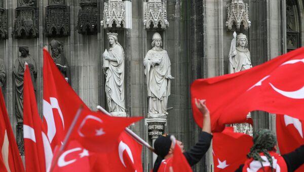 Almanya Köln Katedrali - Sputnik Türkiye