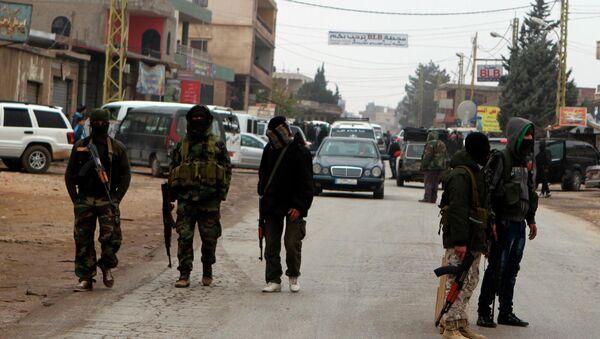 Suriye'de cihatçı militanlar - Sputnik Türkiye