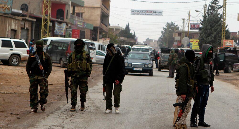 Suriye'de cihatçı militanlar