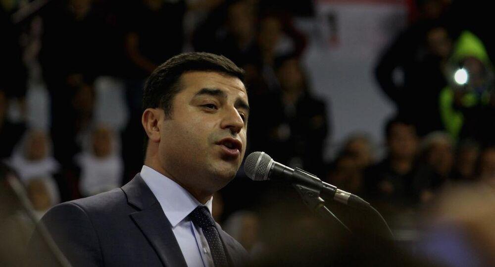 HDP Eş Genel Başkan Selahattin Demirtaş