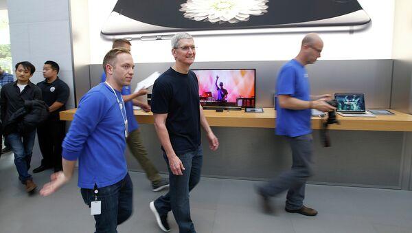 Apple CEO Tim Cook - Sputnik Türkiye