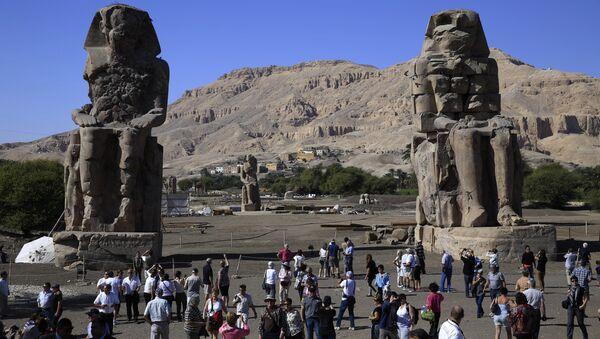 Mısır Piramitleri-Krallık Mezarlığı - Sputnik Türkiye