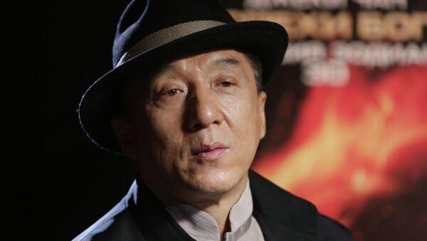 Jackie Chan, Moskova'da - Sputnik Türkiye