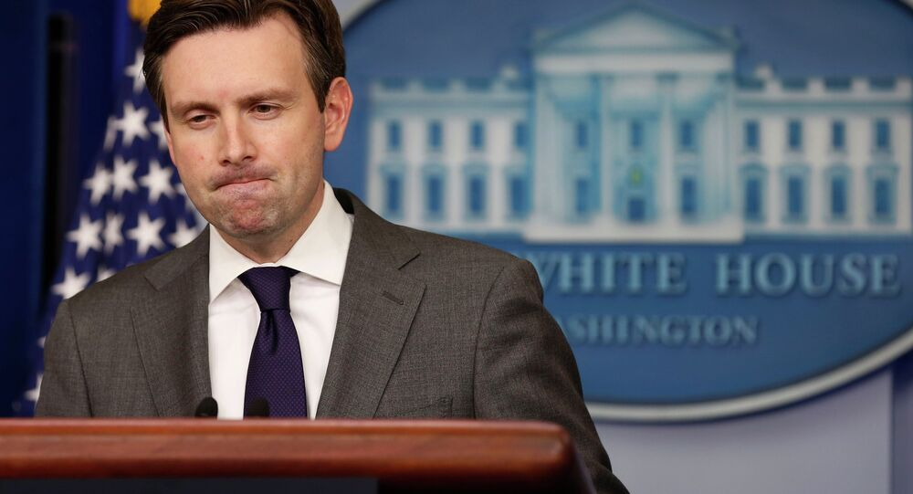 Beyaz Saray Sözcüsü Josh Earnest