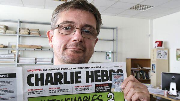 Charlie Hebdo- Stephane Charbonnier - Sputnik Türkiye