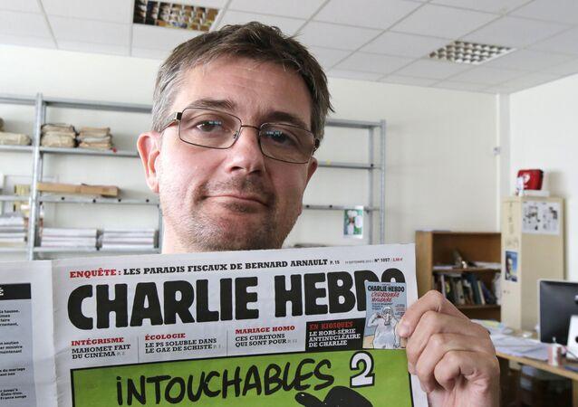 Charlie Hebdo- Stephane Charbonnier