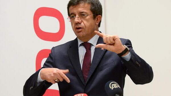 Türkiye Ekonomi Bakanı Nihat Zeybekci - Sputnik Türkiye