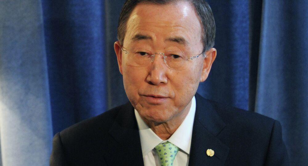 BM Genel Sekreteri Ban Ki Mun