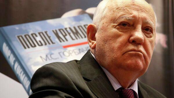 Sovyetler Birliği'nin son lideri Mihail Gorbaçov - Sputnik Türkiye