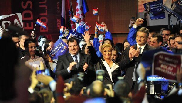 Hırvatistan'daki cumhurbaşkanı seçimi - Sputnik Türkiye