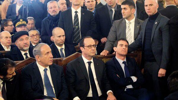 Hollande, Netanyahu'ya öfkesini dışa vurmaktan çekinmedi. - Sputnik Türkiye
