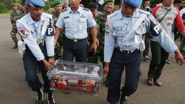 Endonezya AirAsia uçağının kara kutusu - Sputnik Türkiye