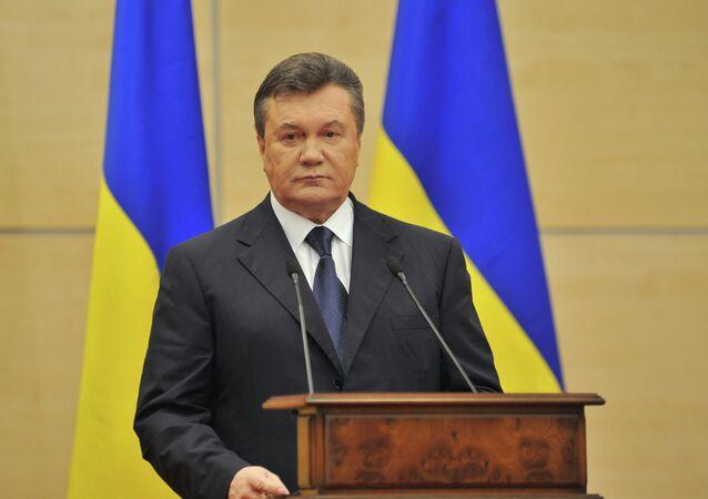 Ukrayna'nın eski devlet başkanı Viktor Yanukoviç