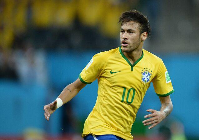 Brezilyalı futbolcu Neymar