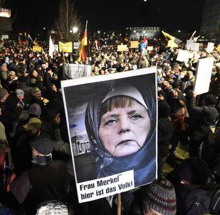 Almanya Başbakanı Angel Merkel