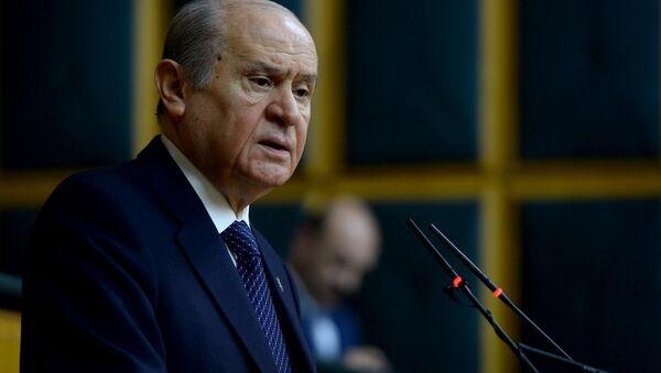 MHP Genel Bakanı Devlet Bahçeli - Sputnik Türkiye