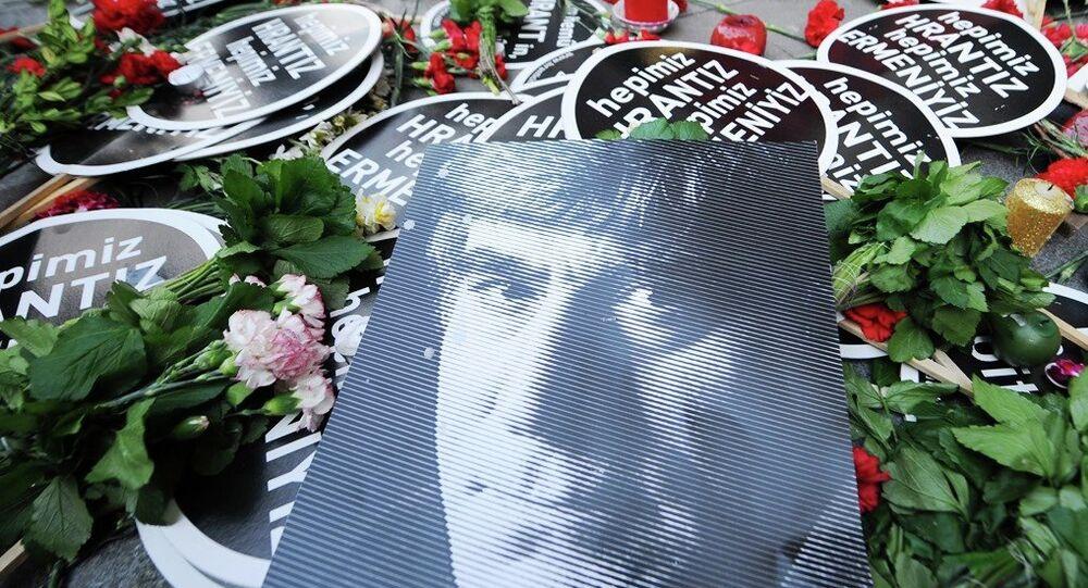 Agos Gazetesi Genel Yayın Yönetmeni Hrant Dink